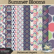 Summer Blooms Patterned Papers