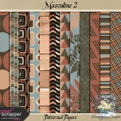 Masculine 2_patterned papers