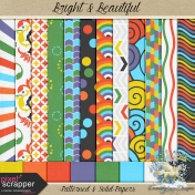 Bright & Beautiful-patterned & solids
