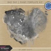 Bad Day- Paint Template Kit