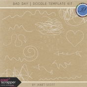 Bad Day- Doodle Template Kit