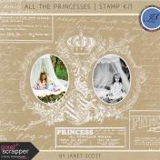All the Princesses- Stamp Kit