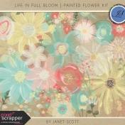 Life In Full Bloom- Painted Flower Kit