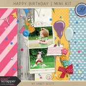 Happy Birthday- Mini Kit