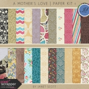 A Mother's Love- Paper Kit 1