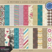 A Mother's Love- Paper Kit 2