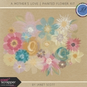 A Mother's Love- Painted Flower Kit