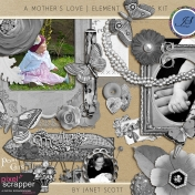 A Mother's Love- Element Template Kit