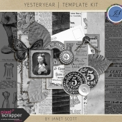 Yesteryear- Template Kit