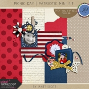 Picnic Day- Patriotic Mini Kit