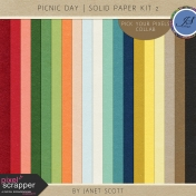 Picnic Day- Solid Paper Kit 2