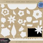 Picnic Day- Shape Mask Template Kit 3