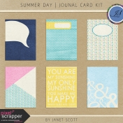 Summer Day- Journal Card Kit