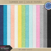 Summer Day- Solid Paper Kit