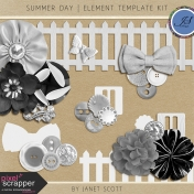 Summer Day- Element Template Kit