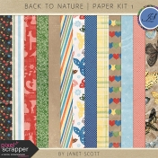 Back to Nature- Paper Kit 1