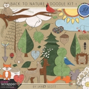 Back to Nature- Doodle Kit 1