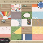 Back to Nature- Journal Card Kit