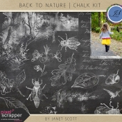 Back To Nature- Chalk Kit