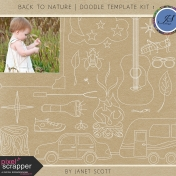Back to Nature- Doodle Template Kit 1