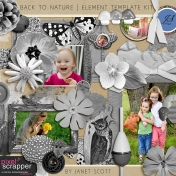 Back to Nature- Element Template Kit