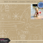 Back to Nature- Doodle Template Kit 2