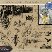 Back to Nature- Stamp Template Kit