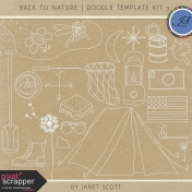Back to Nature- Doodle Template Kit 3