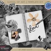 School of Art- Template Kit