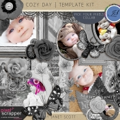 Cozy Day- Template Kit