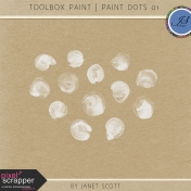 Toolbox Paint- Painted Dots 01 Kit