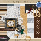 At the Table- Mini Kit