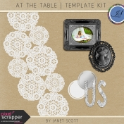 At the Table- Template Kit