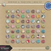Memories & Traditions- Brad Kit