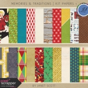 Memories & Traditions - Paper Kit 1