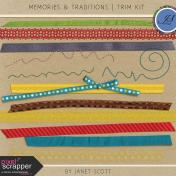 Memories & Traditions- Trim Kit