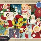 Memories & Traditions- Ephemera Kit