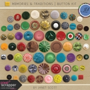 Memories & Traditions- Button Kit