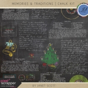 Memories & Traditions- Chalk Kit
