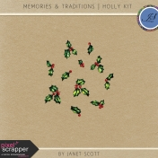 Memories & Traditions- Holly Kit