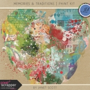 Memories & Traditions- Paint Kit