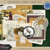 Grandpa's Desk- January 2016 Blog Train Mini Kit