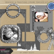 Memories & Traditions- Frame Template Kit