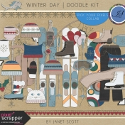 Winter Day- Doodle Kit