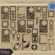 Toolbox Graphics- Letter Border Kit 1