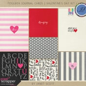 Toolbox Journal Cards- Valentine's Day Kit 1