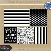Toolbox Journal Cards- Template Kit 1