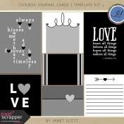 Toolbox Journal Cards- Template Kit 2