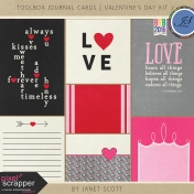 Toolbox Journal Cards- Valentine's Day Kit 2