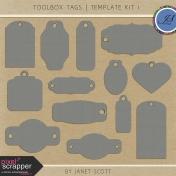 Toolbox Tags- Template Kit 1